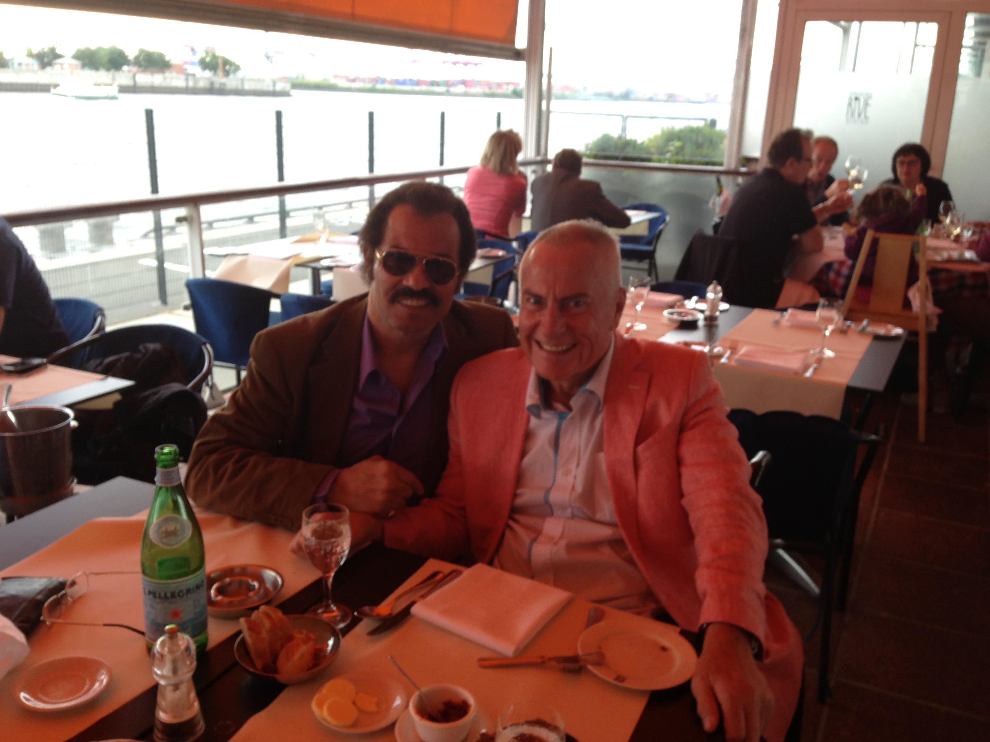 Kalle und Josef im RIVE, HH am Fischereihafen