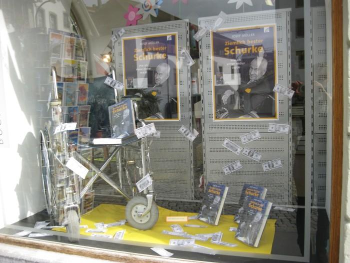 Buch Schaufenster in Thun Schweiz