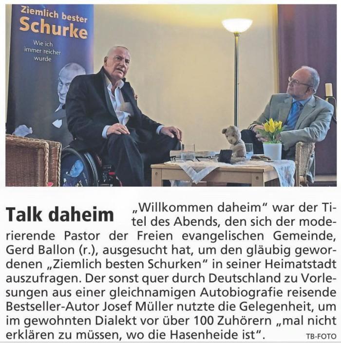 FFB Tagblatt 29.4.2015