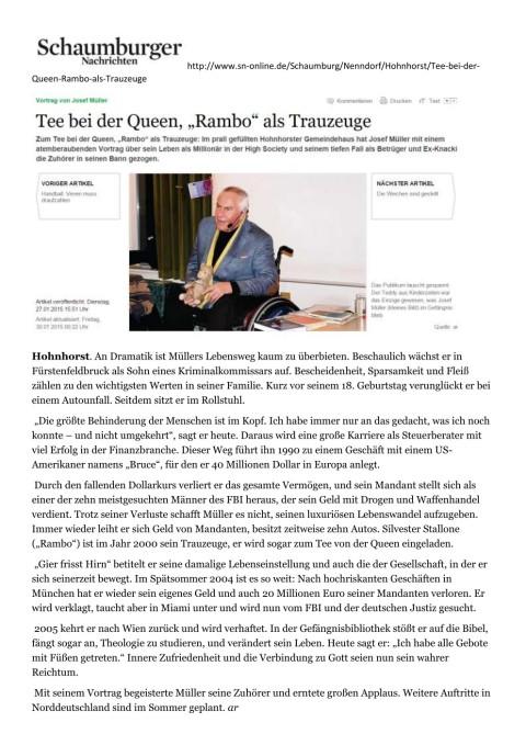 Hohnhorst Schaumburger Nachrichten