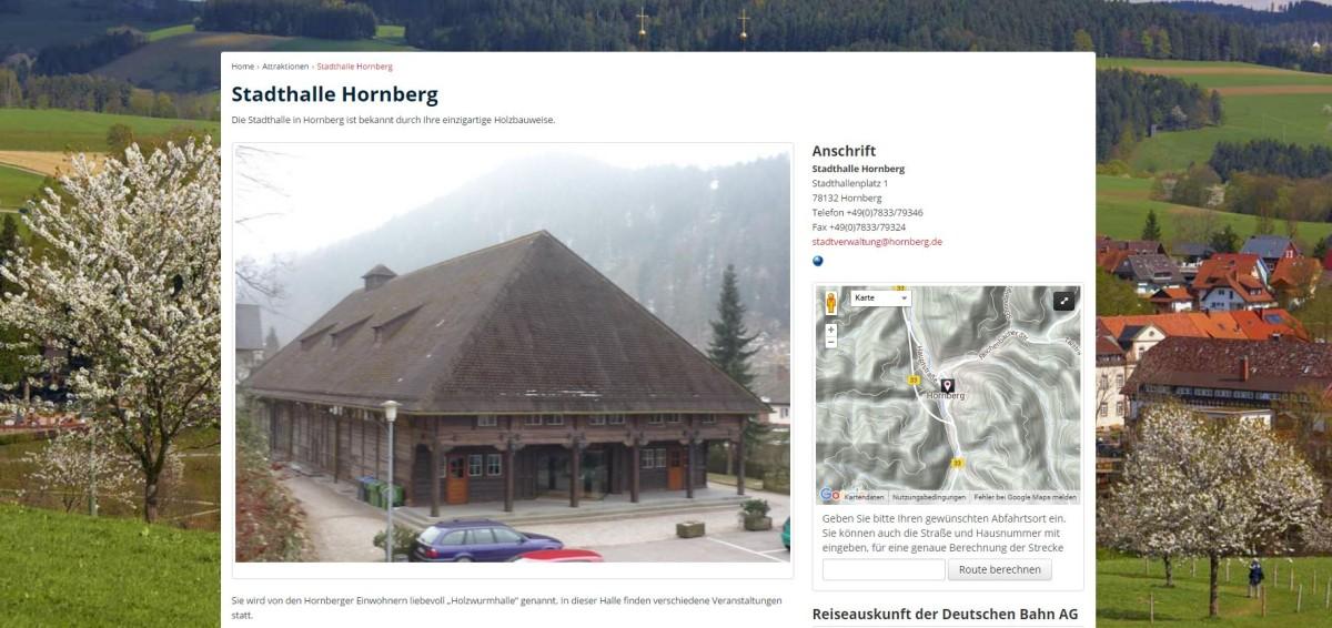 Hornberg-Stadthalle