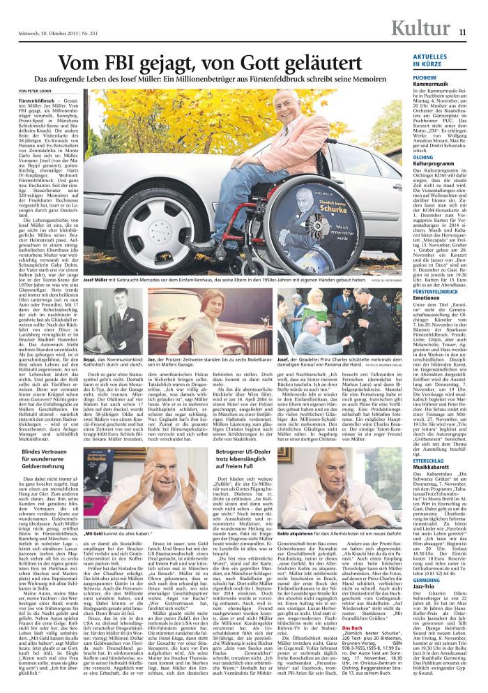 Münchner Merkur 30.10.2013