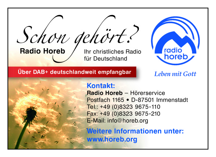 Radio Horeb Vorlage
