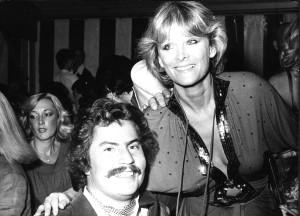 Mit Edith Schmid, Mitte der 70er Jahre. Sie war die Besitzerin des «Edith's», des bekanntesten Nachtclubs in den wilden Disco-Zeiten.