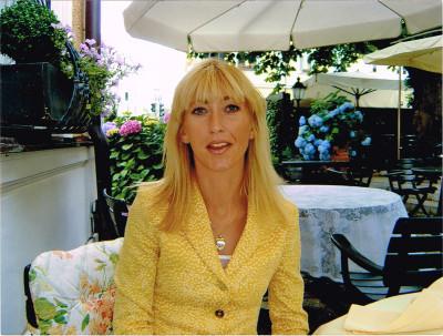 Ex-Ehefrau Sandra im Bogenhausener Hof in München