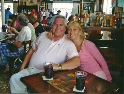 Sandra und Josef in Florida