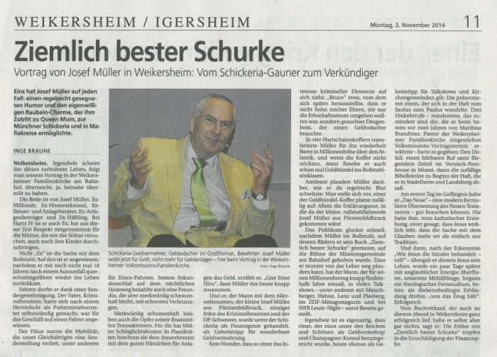 Weikersheim-301014-Zeitungsartikel